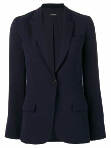 Theory staple formal blazer - BLUE
