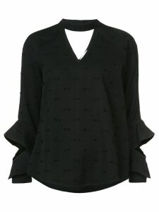 Kimora Lee Simmons Kai blouse - Black