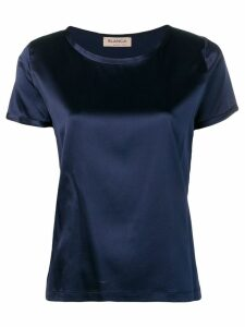 Blanca Vita satin top - Blue