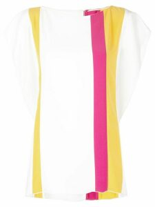 Carolina Herrera striped blouse - Yellow
