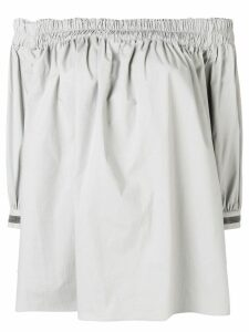 Fabiana Filippi off the shoulder blouse - Grey