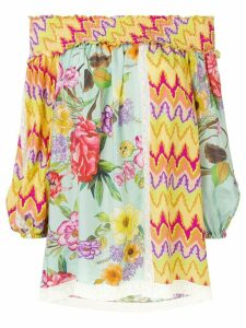 P.A.R.O.S.H. off the shoulder blouse - Yellow