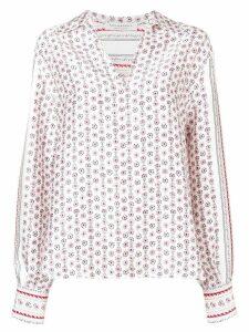 Philosophy Di Lorenzo Serafini foulard print twill blouse - White