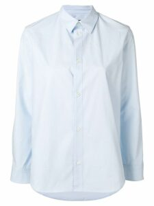 A.P.C. long-sleeve fitted shirt - Blue