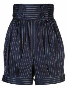 Rosie Assoulin striped shorts - Blue