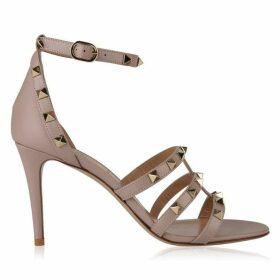 Valentino Rockstud Strap Heeled Sandals