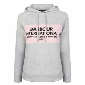 Barbour International Logo Hooded Sweatshirt