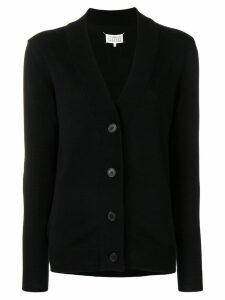 Maison Margiela longline V-neck cardigan - Black