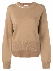 Pringle of Scotland contrast cashmere jumper - Brown