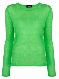 Dsquared2 round neck sweater - Green