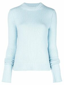 Khaite cashmere fine knit sweater - Blue