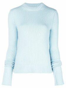 Khaite cashmere fine knit sweater - Blue