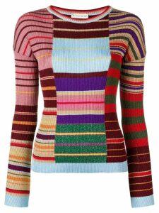 Etro multi stripe top - Multicolour