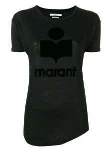 Isabel Marant Étoile logo T-shirt - Black