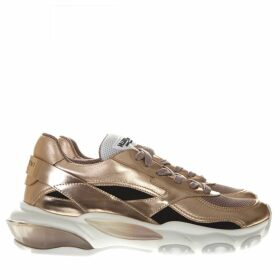 Valentino Garavani Gold Leather Sneaker Bounce