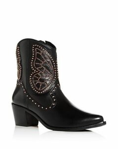 Sophia Webster Women's Shelby 50 Studded Western Pointed-Toe Boots