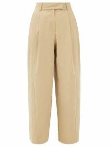 Saint Laurent - Sequinned-belt Silk-georgette Mini Dress - Womens - Black