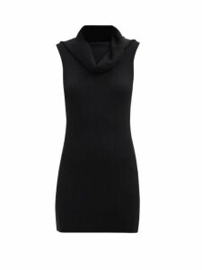 Raey - Gathered Silk Sleeveless Smock Top - Womens - Grey