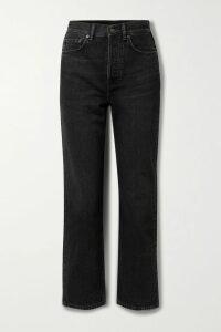 Sacai - + Pendleton Shell-trimmed Intarsia Cotton-blend Sweater - Blue