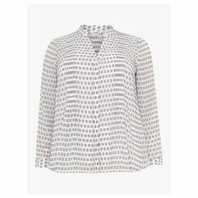 Studio 8 Pria Spot Top, White/Blue