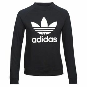 adidas  TRF CREW SWEAT  women's Sweatshirt in Black