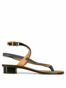 Isabel Marant ankle strap sandals - Black