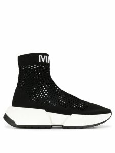 Mm6 Maison Margiela Sock runner sneakers - Black