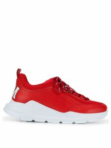 MSGM logo print sneakers - Red