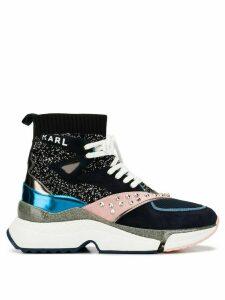 Karl Lagerfeld Aventur hi-top sneakers - Blue