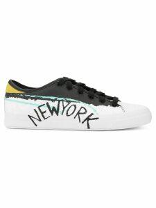 Puma New York print sneakers - Black