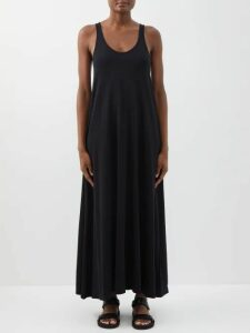 Prada - Logo-intarsia Metallic Striped Sweater - Womens - Red Multi