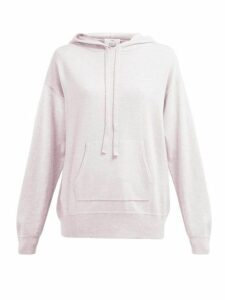 Allude - Wool Blend Hooded Sweater - Womens - Light Pink