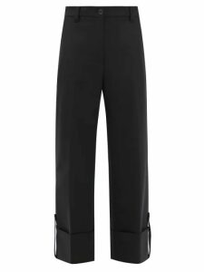 Allude - Roll Neck Cashmere Sweater - Womens - Brown
