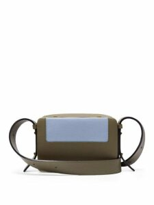 Lutz Morris - Maya Grained-leather Cross-body Bag - Womens - Khaki