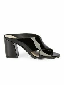 Lyra Patent Leather Mules