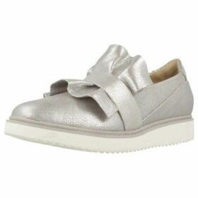 Geox  D THYMAR D  women's Loafers / Casual Shoes in Silver