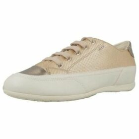 Geox  D NEW M0ENA  women's Shoes (Trainers) in Brown