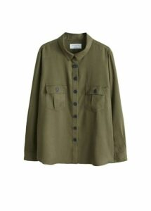 Chest-pocket soft shirt