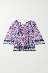 MadeWorn - Metallica Embellished Distressed Printed Cotton-jersey T-shirt - Charcoal