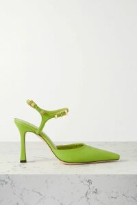 MadeWorn - Sutton Distressed Checked Cotton-flannel Shirt - Red