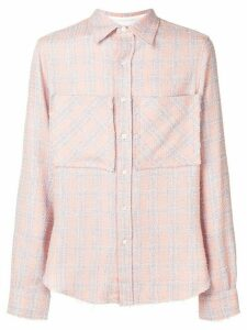 Faith Connexion checked tweed shirt - Pink