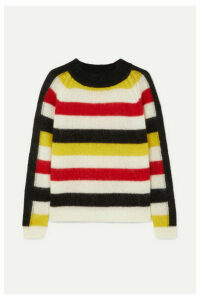 PAPER London - Mona Striped Knitted Sweater - Cream