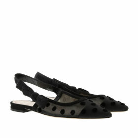 Christian Dior Loafers & Slippers - Jadior Slingback Flat Pumps Black - black - Loafers & Slippers for ladies