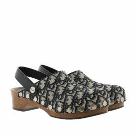 Christian Dior Loafers & Slippers - Diorquake Slipper Leather Blue - blue - Loafers & Slippers for ladies