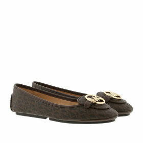Michael Kors Ballerinas - Lillie Moccasin Brown - brown - Ballerinas for ladies