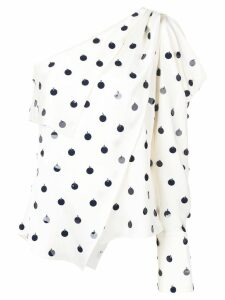 Monse asymmetric one-shoulder blouse - White