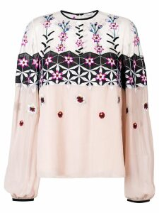 Temperley London Finale blouse - Pink