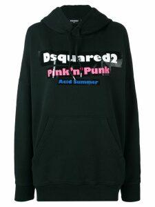 Dsquared2 Pink 'n' Punk hoodie - Black