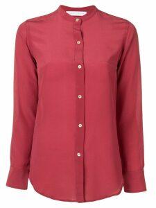 Société Anonyme mandarin collar shirt - Red