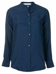 Société Anonyme mandarin collar shirt - Blue